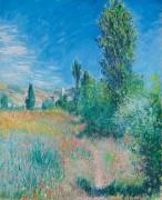 Пейзаж на острове Сен-Мартен - Моне, Клод