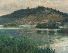 Пейзаж в Пор-Виле - Моне, Клод