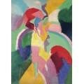 """Женщина с зонтиком (или """"Парижанка"""") - Делоне, Роберт"""