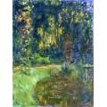 Кувшинки в пруду  в Живерни, 1917 - Моне, Клод