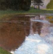 Тихий пруд близ Голлинга, Зальцбург - Климт, Густав