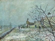 Первый снег в Венё-Надоне - Сислей, Альфред