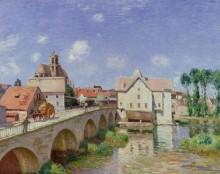Мост в Море - Сислей, Альфред