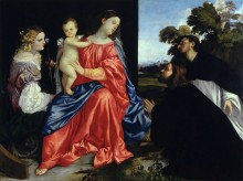 Святое собеседование - Тициан Вечеллио
