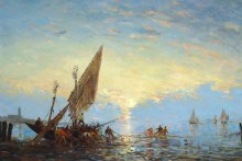 Рыбаки в лагуне -  Зим, Феликс