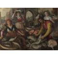 Четыре стихии, вода - рыбный рынок - Бейкелар, Йоахим