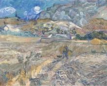 Пейзаж в Сен-Реми (Landscape at Saint-Remy), 1889 - Гог, Винсент ван