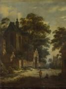 Вид на деревню - Фриз, Ролоф ван