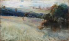 Австралийский пейзаж, 1889-90 -  Кондер, Чарльз