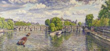 Новый мост, Париж, 1941 - Кариот, Густав