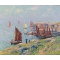 Возвращение лодки, 1907 - Море, Анри