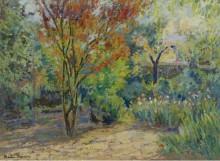 В саду - Ферьерес, Жак Мартин