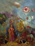 Будда и цветы - Редон, Одилон