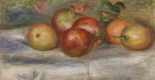 Яблоки, апельсины и лимон - Ренуар, Пьер Огюст
