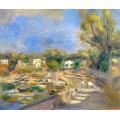 Пейзаж в Кань-Сюр-Мер, 1910 - Ренуар, Пьер Огюст
