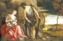 Каин с семьей, 1585 - Веронезе, Паоло (Калиари)