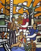 Отдыхающие (The Camper),  1954 - Леже, Фернан