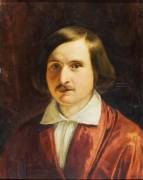 Портрет Н..В Гоголя 1841 копия - Моллер, Фёдор Антонович