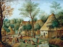 Сельский пейзаж - Брейгель, Питер (Младший)