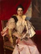 Портрет княгини Зинаиды Юсуповой - Фламенг, Франсуа