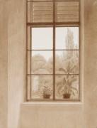Окно с видом на парк - Фридрих, Каспар Давид