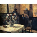 Интерьер дома художника на рю Карсель, 1881 - Гоген, Поль