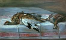 Натюрморт с фазаном и куропаткой - Ренуар, Пьер Огюст