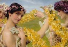 Когда цветы возвращаются - Альма-Тадема, Лоуренс
