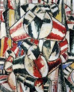 Контраст формы (Contrast of form), 1914 - Леже, Фернан