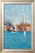 Круговая набережная, Сиднейская Гавань, 1895 - Стритон, Артур