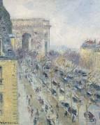 Триумфальная арка и Фридланд Авеню, 1930-31 - Луазо, Гюстав