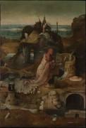 Триптих святых отшельников, центральная панель - Святой Иероним - Босх, Иероним (Ерун Антонисон ван Акен)