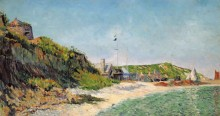 Порт-ан-Бессен, пляж, 1883 - Синьяк, Поль