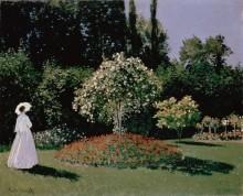 Женщина в саду - Моне, Клод