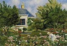 В саду, 1953 - Манцана-Писсарро, Жорж