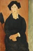 Портрет итальянки - Модильяни, Амадео