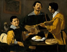 Три музыканта - Веласкес, Диего