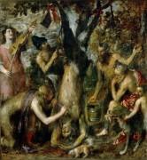 Наказание Марсия - Тициан Вечеллио