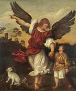 Товия и ангел - Тициан Вечеллио