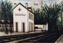 Железнодорожная станция - Бюффе, Бернар