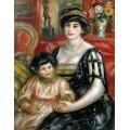 Мадам Бернхайм с сыном Анри - Ренуар, Пьер Огюст