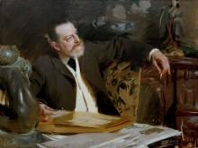 Портрет министра культуры Антонена Пруста - Цорн, Андерс