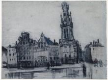 Гроте Маркт (The Grote Markt), 1885 - Гог, Винсент ван