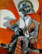 Мушкетер с трубкой, 1968 - Пикассо, Пабло