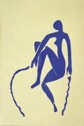 Голубая танцовщица - Матисс, Анри
