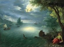 Иоанн Богослов на Патмосе - Брейгель, Ян (младший)