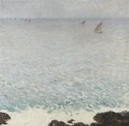 Морской пейзаж - Мартен, Анри Жан Гийом