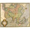 Карта Азии, 1633г. - Меркатор, Герард