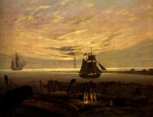 Вечер на Балтике - Фридрих, Каспар Давид