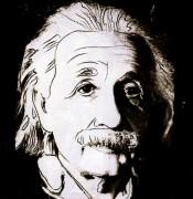 10 знаменитых евреев 20 века, Альберт Эйнштейн (Dix portraits de juif du XXe siècle, Albert Einstein), 1980 - Уорхол, Энди